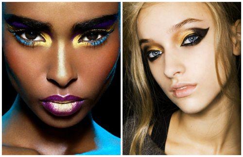 темнокожая и светлокожая модели