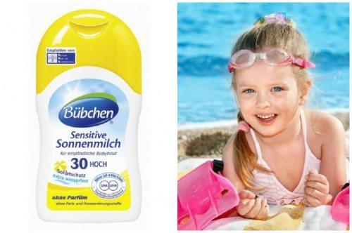 Бюбхен для детского загара