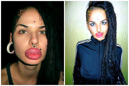 губы-рекордсмены