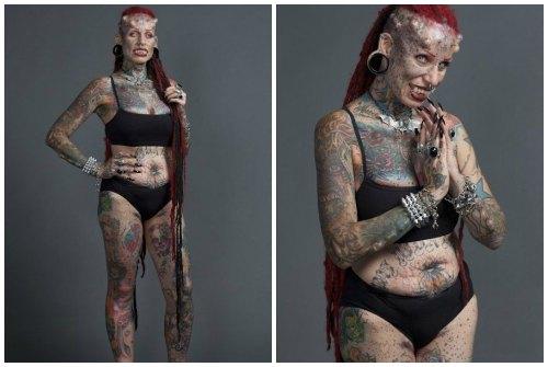 татуировки женщины