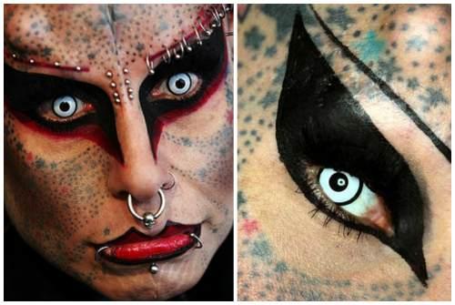 страшный цвет глаз