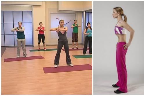 групповые и одиночные упражнения