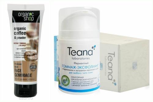 Organic shop и Teana laboratories