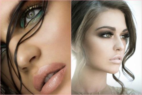 make-up с акцентом на глаза