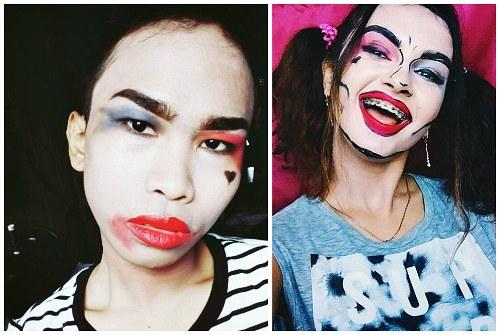 неудачные примеры макияжа