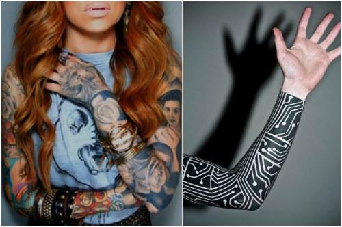 татуировки для девушек и парней