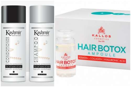 Kashmir Keratin Hair System и Kallos