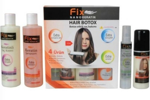 Nanokeratin Fix Hair Botox 4 в 1