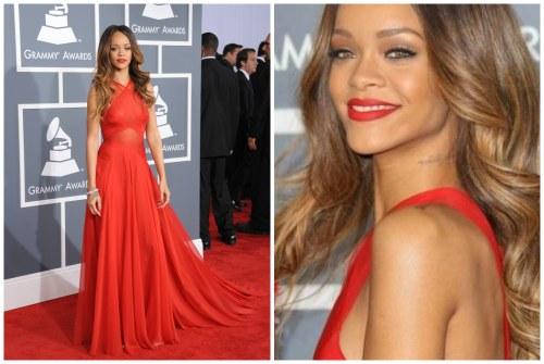 Rihanna на церемонии Грэмми