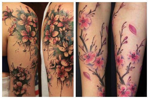 Цветы на руках