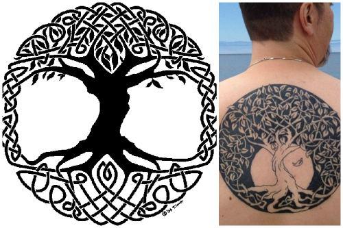 кельтский символ дерева