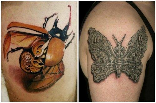 Механизированные насекомые