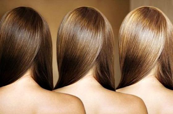 До и после использования оттеняющей косметики