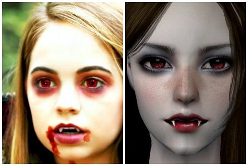 вампирский образ