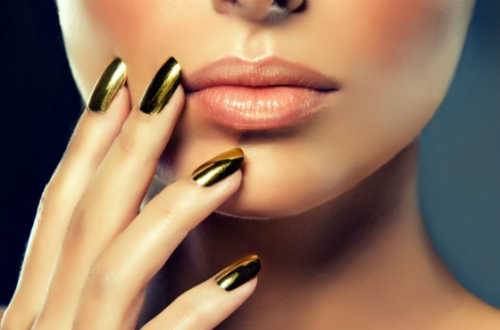 Хромовое покрытие ногтей