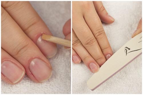 Обработка ногтевой поверхности