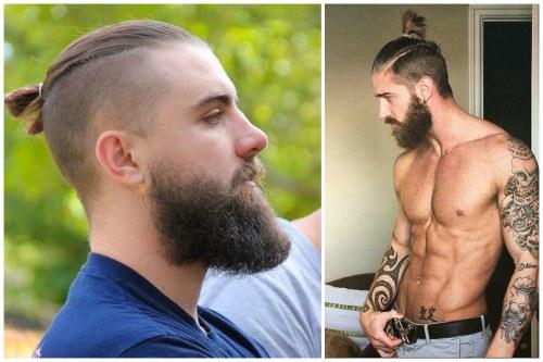 Сочетание стрижки с бородой