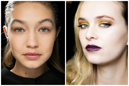 глиттер makeup
