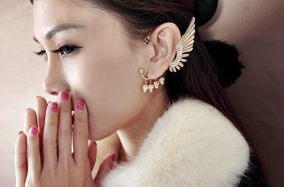 золотой Piercing