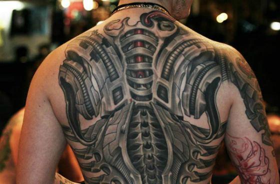 татуировка во всю спину