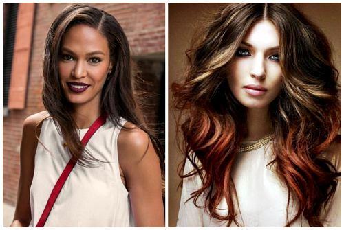 покраска волос тренд 2017 фото