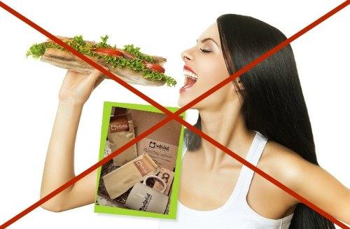 не поможет при не правильном питании
