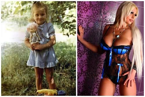 до и после взросления