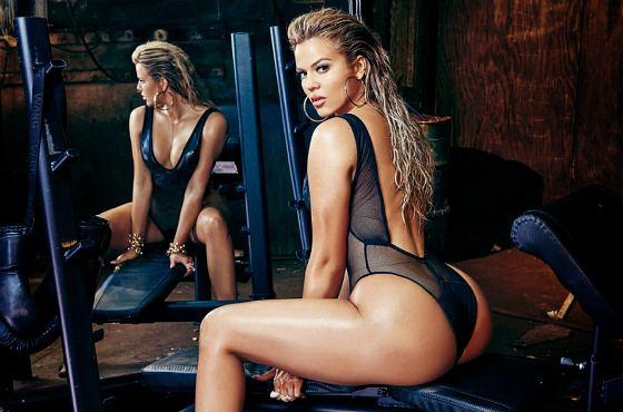 спортивная Khloe Kardashian