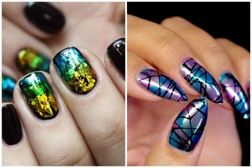 Популярные nail art техники