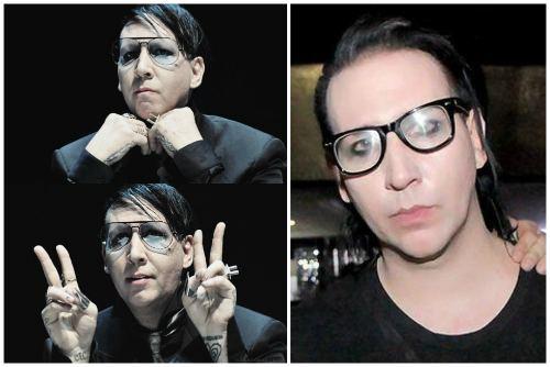 в стильных очках