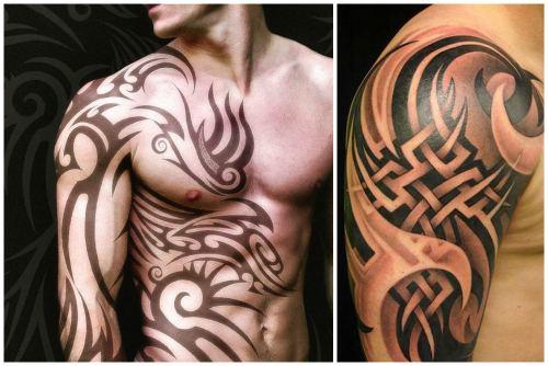 Варианты татуировок древних кельтов
