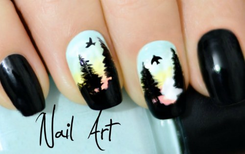 Художественный nail art