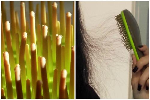 Зубчики на подделке и электризация волос от них