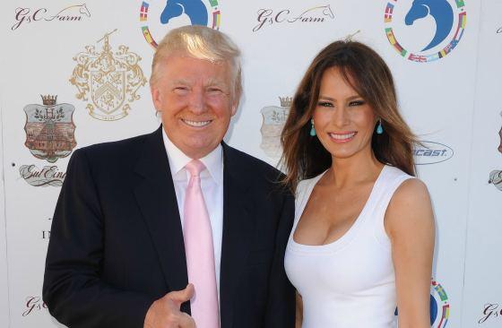 Donald и Melania