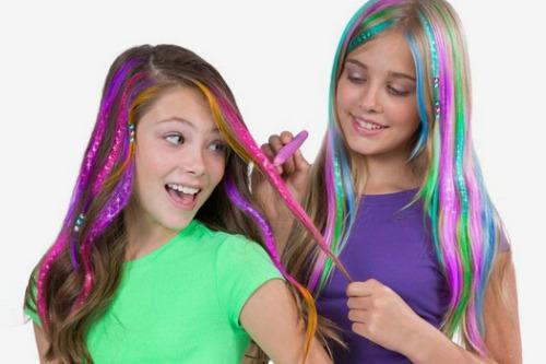 Буйство красок на волосах