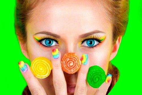 Мармеладный nail art