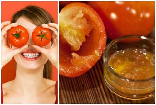 маска с томатами