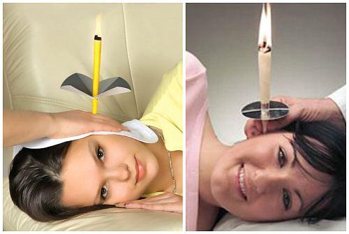 свеча и воронка