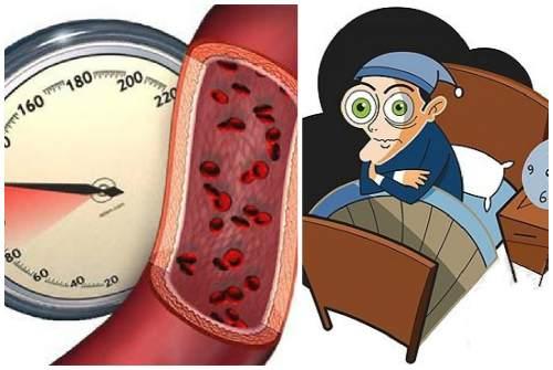 повышение АД и проблемы со сном