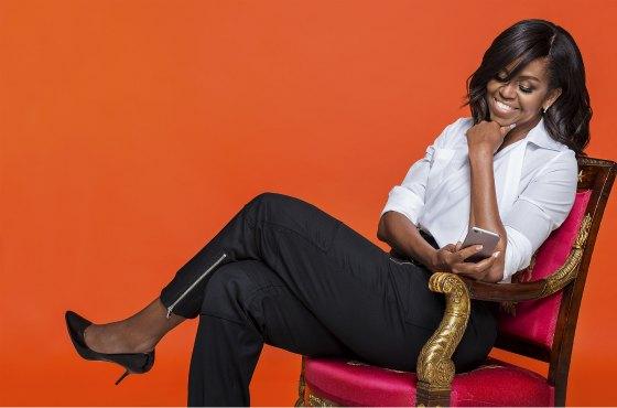 Мишель Обама- жена американского президента