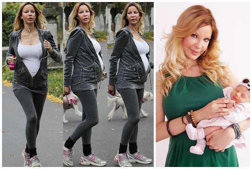 беременность и рождение дочери Папайи