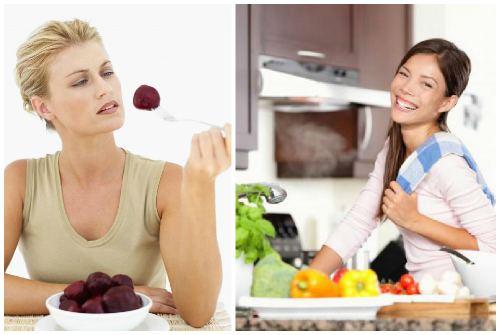 инжир и овощи