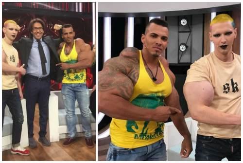 с Ромарио Дос Сантос Алвесом