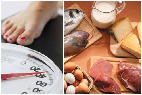 взвешивание и белковое питание