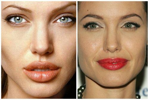 губы Джоли