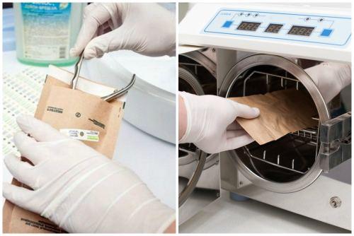 стерилизация в крафт-пакете