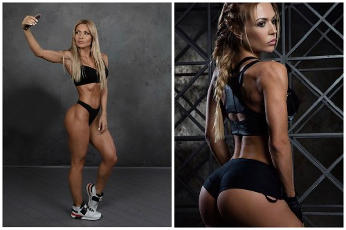Фитнес-модель Катя Усманова