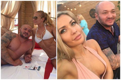 Со вторым мужем Дмитрием