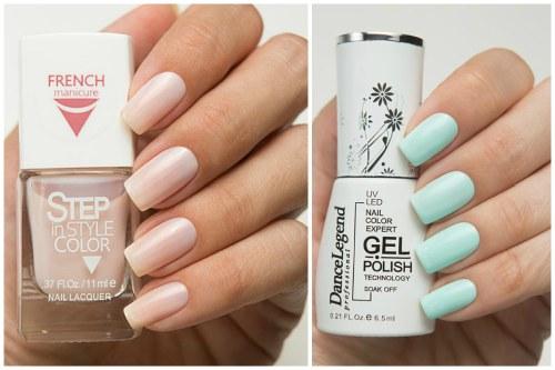 Step French и Gel polish Step №01