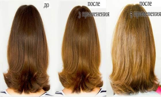 Осветление волос мёдом